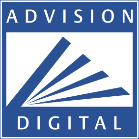AdVision digital footer logo